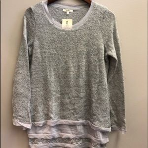 Easel Layered Sweater NWT